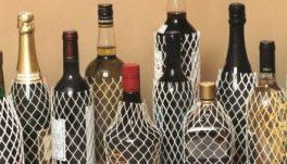 Plase pentru sticle de sticlă