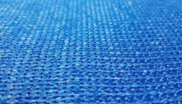 Засенчваща мрежа 95%, Рафия, синя, 140 гр./кв.м. 2