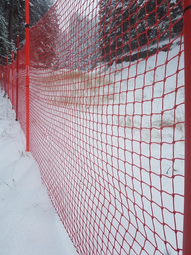 мрежа за ски писта