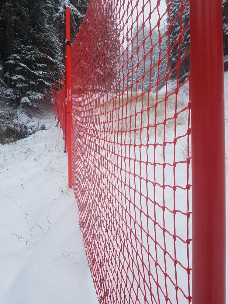 мрежа за ски писта -2