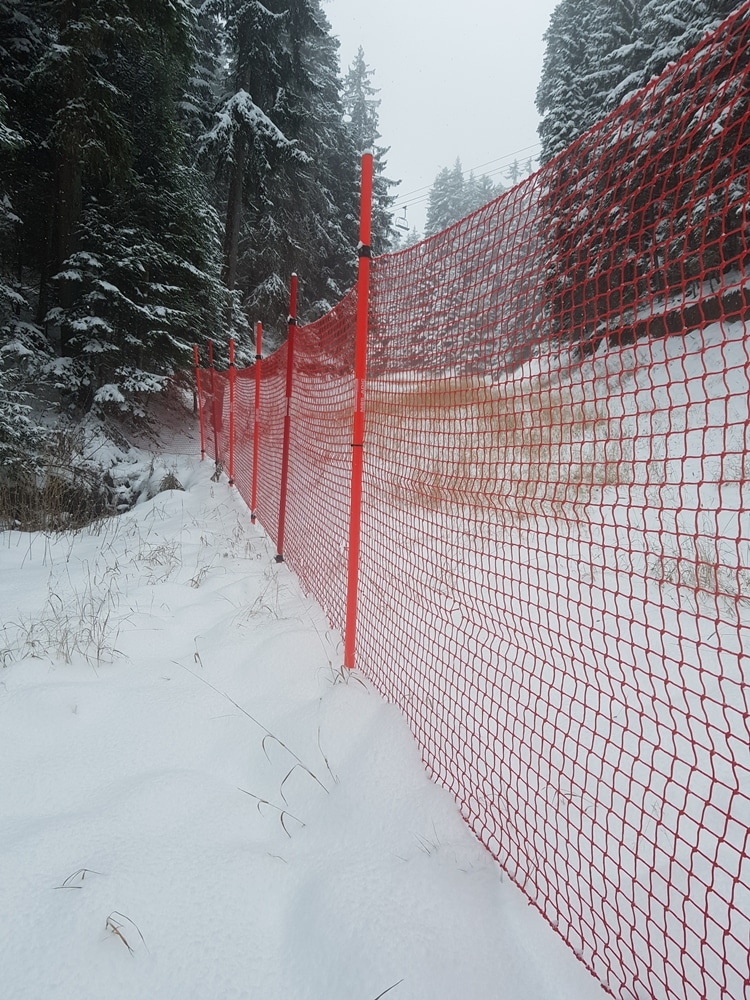 мрежа за ски писта - 3