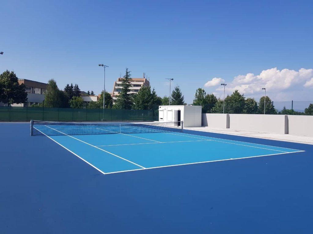 тенис екран