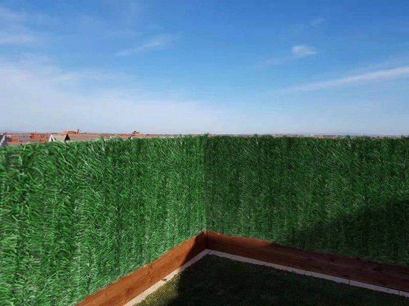 декоративна ограда изкуствен плет