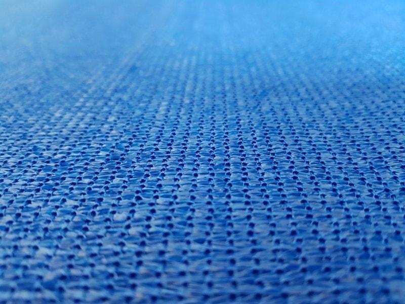 Засенчваща мрежа 95%, Рафия, синя, 140 гр./кв.м.