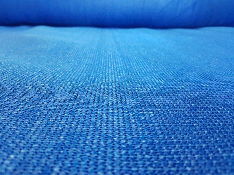 Засенчваща мрежа 95%, Рафия, синя, 140 гр./кв.м. 3