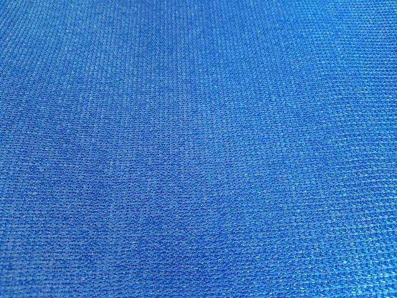 Засенчваща мрежа 95%, Рафия, синя, 140 гр./кв.м. 6