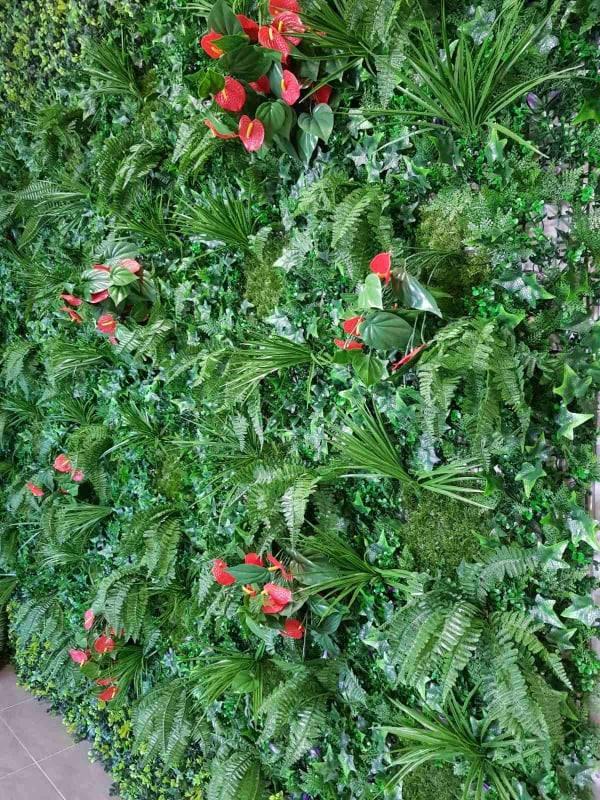 Декоративна плочка за ограда, размер 100х100 см, премиум 4